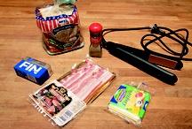 Как приготовить горячий бутерброд выпрямителем для волос / Выпрямители подходят для производства миниатюрных аккуратных сэндвичей. Кажется даже, что этот прибор больше приспособлен для кулинарных, а не парикмахерских нужд.