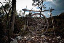 Art in situ / Création en nature, artistes inspirés