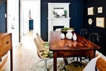 Room for Dining / Wall Colors/Table/Esthetics/inspiration