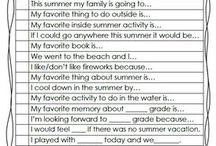 summer journal ideas