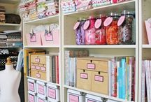 Organize the Sewing Studio