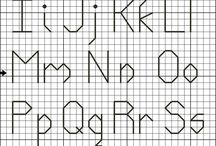 kaneviçe harfler