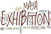 Exhbitions / Photos of past exhibitions of the Maya Project