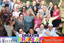 CREATIVE SHAKE UP with Marlene Neumann / Corporate Inspiration Workshops. DOES YOUR COMPANY NEED A CREATIVE SHAKE UP ?  Let Marlene's passion and drive inspire your staff through one of her unique, hands-on creativity experiences with high energy multimedia presentations and audience interaction.. Contact Marlene on 083 321 3391 / neumann@worldonline.co.za www.marleneneumann.com