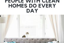 Household Tips / Household tips and household hacks to keep your homes organized and clean without spending a lot of time.