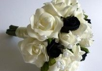 Black Wedding Flowers