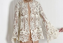 vintage and crochet lace