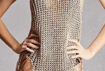 Платье кольчуга