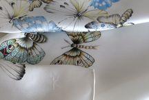 WOYNOWSKA / Hand-painted silk accessories