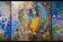 Artist - Anastasiia Grygorieva / by Jeanne Medina