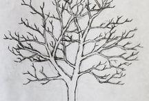 Dessins d'arbres