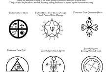 WICCA: symboler mm