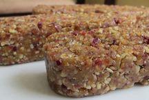Energy + Granola Bars + Raw Bar/Balls Recipes / From raw bars to baked treats.