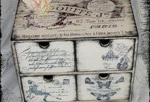 decoupage vintage