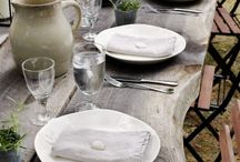 ::around the table:: / tablescapes, family dining, dinner parties / by Kate Morgan