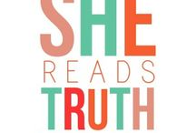She Reads Truth / by Hannah Stanford