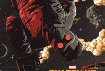 Guardians of the Galaxy / Mavel's greatest movie and comics.