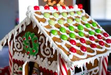 christmas gingerbread  hause cookis