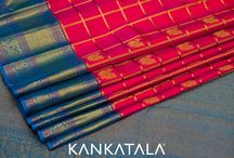 Kanjivarams / Silk of gods India's age old classic Kanjivaram Created from silk of mulberry, interwoven with silver threads dipped in gold for a lovely zari & tissue effect. Must-have Kanchi sarees for brides…