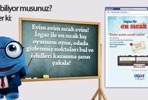 İzgaz GDF SUEZ FACEBOOK OYUNLARI / www.facebook.com/izgazgdfsuez sayfasında onlarca ödüllü oyun sizleri bekliyor.