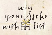 """Sseko Holiday Wish List / Pin to win your Sseko Holiday Wish List! Winner receives a $250 gift card toward any item(s) on their list, plus 3 runners-up will receive $25 """"stocking stuffer"""" gift cards! // Entry details + rules: ssekodesigns.com/wishlist / by Sseko Designs"""