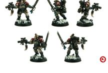 Spacemarine scouts