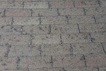 Roofs with Hail Damage / This board shows all kinds of roofs with all kinds of hail damage from all over Colorado!
