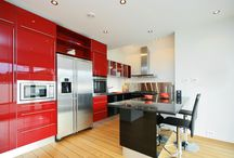 Kitchens with COLOR!