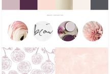Moodboard / Ideas for colours, layout, patterns and type