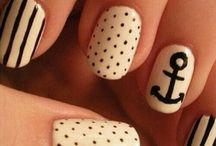 •Nails• / Really nice ideas for your nails, if I had perfect nails, I would totally do some of these ideas! :)