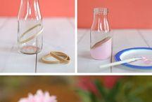 WEDDING || party / Ideeën voor het feest! Decoratie, bedankjes etc.