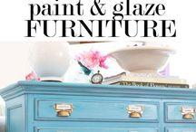 furniture paint techniques