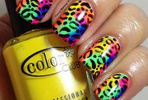 Rainbow nails inspirations