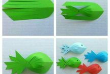 papírová rybka