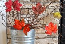 Fall Decor / This board is all about Fall Decor, Crafts and DIY. If you would like to be a contributor please send me your Pinterest Email to TaraBoettger {at} gmail.com. Please limit Etsy pins to one per day and only 5 pins at one time. No Spam.