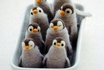 Basteln / Pinguine