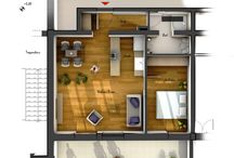 plans presentation interior