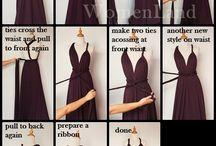 sukienka zmienialna