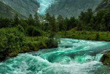 Norsk natur og steder å se
