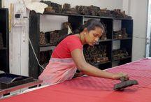 Natural Dyes & Hand Printing