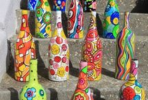 bottles/flessen / creative with bottles