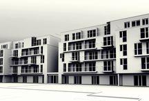 Budynek apartamentowy Westerpaltte / Etap inwestycji: pozwolenie na budowę, inwestycja zawieszona