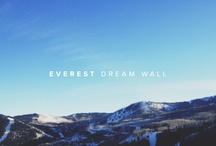 Everest Dream Wall / Dreams captured at the Sundance Everest Mansion. / by Everest