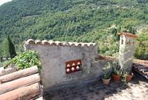 Terrasser / Terrasse, tegl, deck, haveinspiration, orangeri, vinterhave.