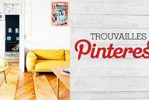 Trouvailles Pinterest: La couleur