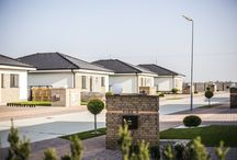Facade of family houses / Facade of family houses by Rustique