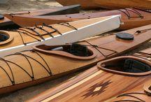 Canoe e Kajak / Canoe e Kajak in legno