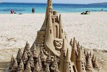 Sand Art / Art made in the sand
