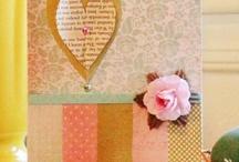 Handmade cards & manuals