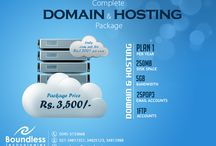 Web Hosting Karachi Packages / Boundless Technologies (Pvt) Ltd is the best domain registration and re-seller provider company established in UAE which provides fast VPS and dedicated servers affordable in price and reliability. We are in this business since more than 13 years and having a notable and worthy name for best domain hosting, dedicated servers and website designing and development.   Do contact us for more information. 02134817357